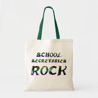 SCHOOL SECRETARIES ROCK TOTE BAG