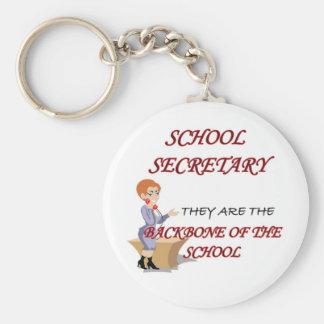 SCHOOL SECRETARY 2 copy Keychain