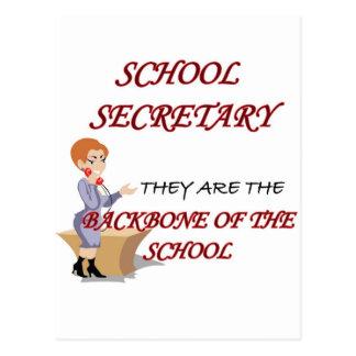 SCHOOL SECRETARY 2 copy Postcard