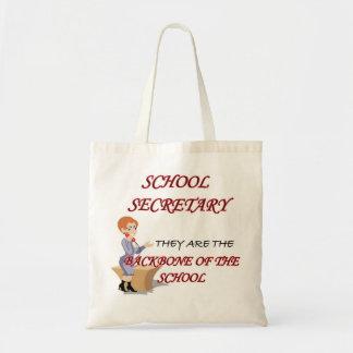 SCHOOL SECRETARY 2 copy Tote Bag