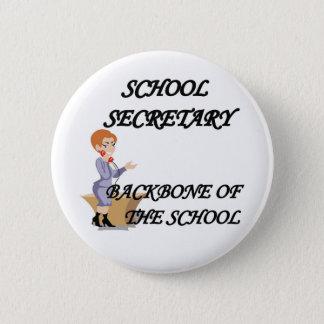 SCHOOL SECRETARY BUTTON