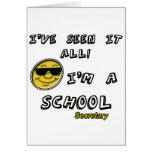School Secretary Card
