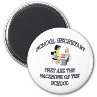SCHOOL SECRETARY FRIDGE MAGNETS
