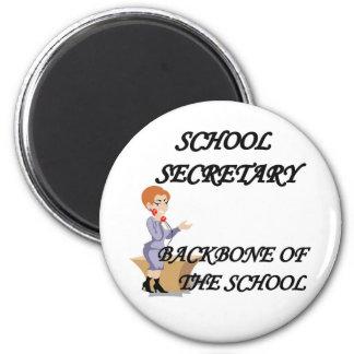 SCHOOL SECRETARY REFRIGERATOR MAGNETS