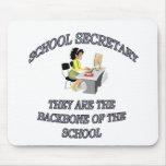 SCHOOL SECRETARY MOUSE PAD