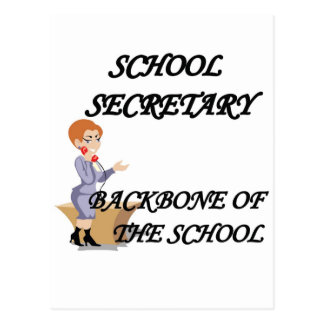SCHOOL SECRETARY POST CARDS