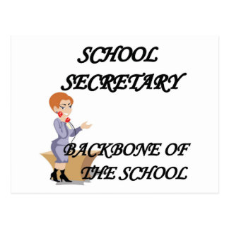 SCHOOL SECRETARY POST CARD