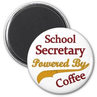 School Secretary Powered By Coffee Magnet