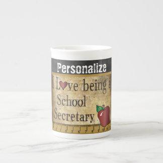 School Secretary Vintage Unique Style Tea Cup