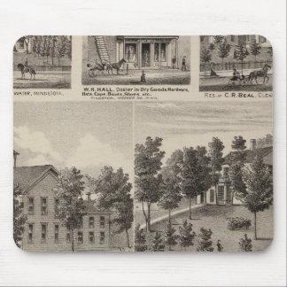 School, Seminary, Residences, Minnesota Mouse Pad