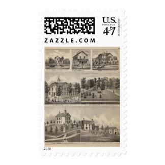 School, Seminary, Residences, Minnesota Postage Stamp
