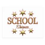School Shines Post Card