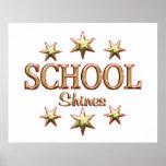 School Shines Poster