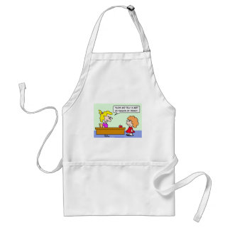 school show and tell invasion privacy adult apron