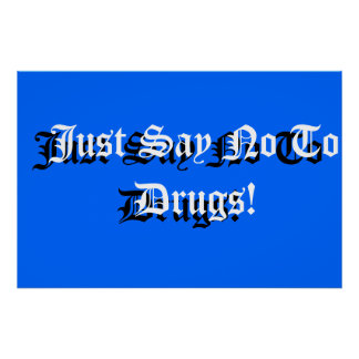 School Sign Anti-drug