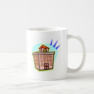 school   (skool)   noun.   a place young people... classic white coffee mug