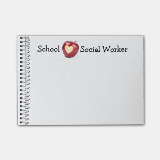 School Social Worker Memo Post-it® Note