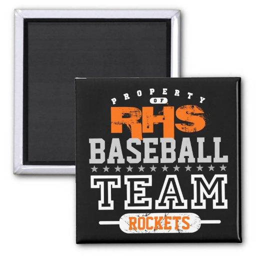 School Sport Team Fridge Magnets