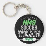 School Sport Team Key Chains