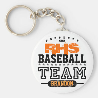 School Sport Team Key Chain
