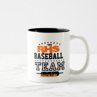 School Sport Team Two-Tone Coffee Mug