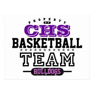 School Sport Team Postcard