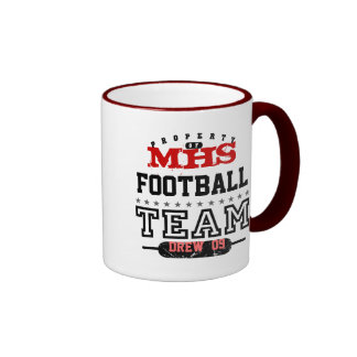 School Sport Team Ringer Mug