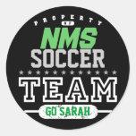School Sport Team Stickers