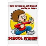 School Stinks Greeting Cards