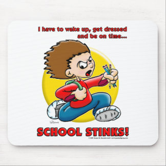 School Stinks Mouse Pad