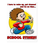 School Stinks Postcard