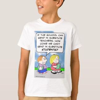 school substitute teachers students T-Shirt