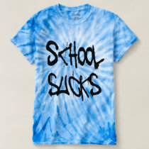 School Sucks Graffiti Style T-shirt