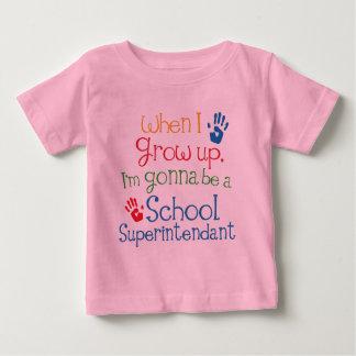 School Superintendant (Future) Child Baby T-Shirt