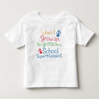 School Superintendant (Future) Child Toddler T-shirt