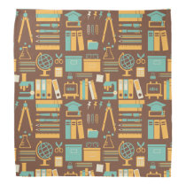 School Supplies All Over Design Bandana