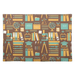 School Supplies All Over Design Placemat