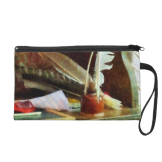 School Supplies in General Store Wristlet Clutches