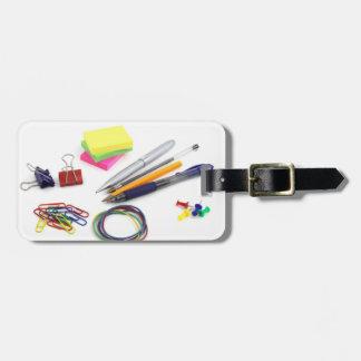 School Supplies Travel Bag Tags