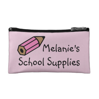 School Supplies Pencil Pouch Cosmetic Bag