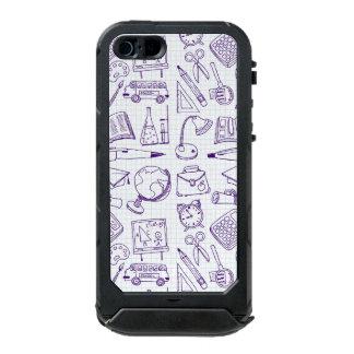 School Supplies Sketch Waterproof Case For iPhone SE/5/5s