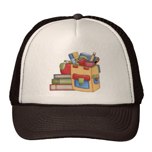 School Supplies Tshirts and Gifts Trucker Hat