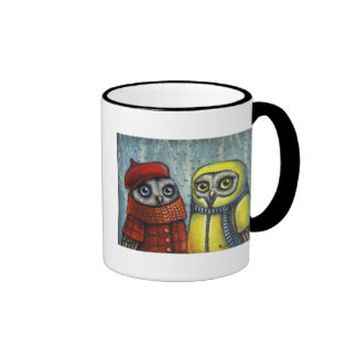 School Sweethearts Ringer Coffee Mug