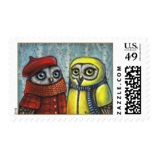School Sweethearts Stamp