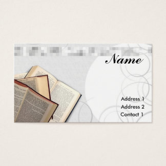 School Teacher Business Card