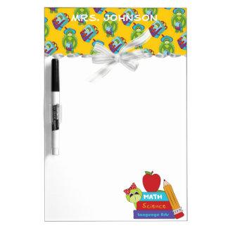 School Teacher Dry Erase Board
