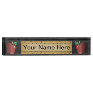 School Teacher Name Plate