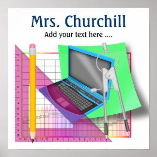 School Teacher Poster - SRF