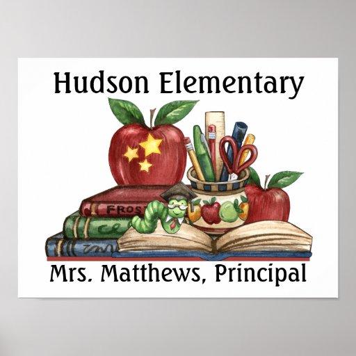 School - Teacher / Principal Print