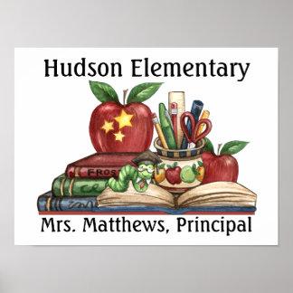 School - Teacher Principal Posters